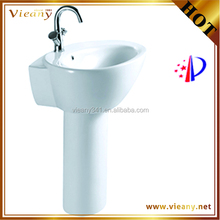 Made in china sanitary ware two piece vanity top bathroom vanity top sink
