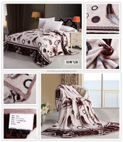 shaoxing military blanket wholesale flannel sheets comfortable feather design flannel fleece blanket