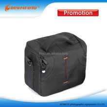 Men Gender Shoulder bag Style Nylon Black soft camera bag for dslr slr