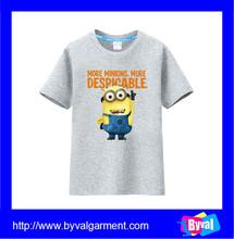 Factory OEM Wholesale short sleeves cotton original design casual children t shirts printed kids Tee shirt
