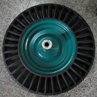 3.50-8 heavy duty solid rubber wheels