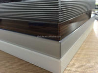shdolle 3D edge banding for xin chuang MDF uv board