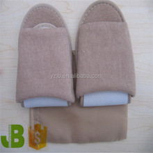 Foldable Airline Disposable Open toe Slippers for Travel