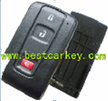 2+1 smart key cover without emergency key blade for Toyota Prius key smart key toyota