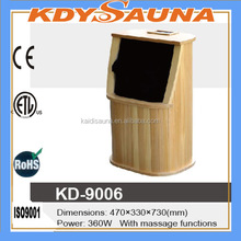 ONE PERSON FOOT SAUNA WITH MASSAGE FUNCTIONS