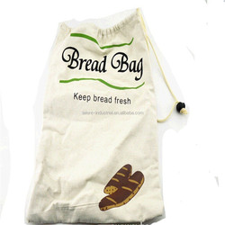 Customized printed drawstring canvas bags with stopper