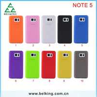 10 Colors In Stock For Samsung Note 5 TPU PC Matte Cover Single Color Case For Galaxy Note 5