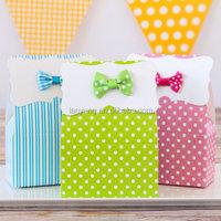 Patterned paper Favor Boxes wholesale 2015