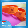 logo printing adjustable silicon wristband factory price