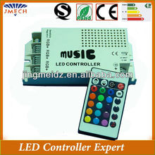DC12V Sound actived IR remote led music controller audio controller for led