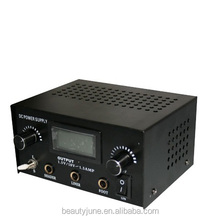 New High duty Sliver Digital DUAL Tattoo Power Supply