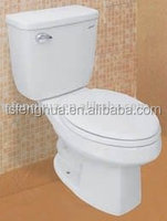 FH309L Jet Siphonic Close-couled Toilet Sanitary Ware Ceramic Bathroom Design