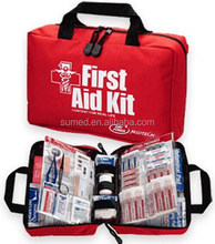 Home or hotel use first aid kit for emergency situation