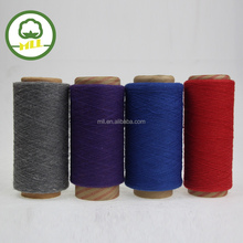 open end spinning recycled/regenerated dyed yarn