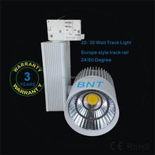 DALI dimmable, 0-10V dimmable 3 wire, 3 circuit 4 wire 8W to 35W LED light track