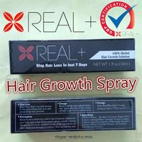 REAL+ PLUS hair grower tonic fast hair enhancing
