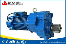 heavy duty 1.5 kw AC crane geared motor /crane hoist motor with high quality and good price