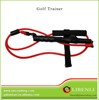 Indoor using Golf trainer in red for fitness