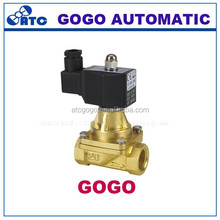 2way copper IP65 hot water oil semi-direct steam solenoid valve