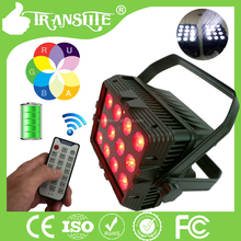 RGBWA+UV 6 in 1 180w led outdoor IP65 lighting led par stage light