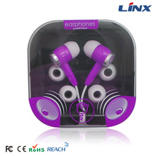 custom printed logo earphone silicon case with earphone holder