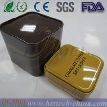 Alibaba China supplier/factory wholesale/Double cover square tea tin boxes/cans/pots for candy/mint/gum/cookie/chocolate/sales