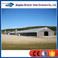 Poultry farm construction prefabricated house