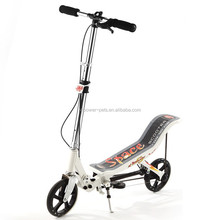 20CM PU wheels Portable folding Kick Scooters Adjustable height Foot Scooters