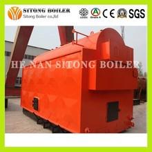DZL(H)-Horizontal industrial gassing Coal/wood/biomass sawdust burner coal fired steam boiler