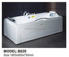 White acrylic walk in bathtub for adult people