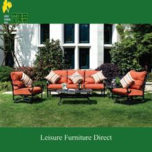 New aluminum outdoor garden sofa set hotel chair furniture 1036
