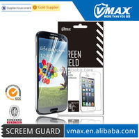 Screen protector/guard/protective film for Samsung galaxy s4 OEM/ODM
