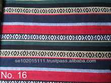 Woven stripes pattern 100 % cotton fabric