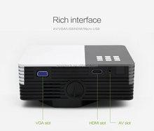 2015 new pocket projector Anxin260 600 lumens 640*480p mini led projector data show android mini projector