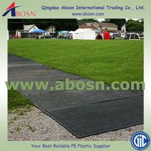 Lightweight plastic high density polyethylene plastic temporary road mats, hdpe heavy duty crane mats, Road Matt