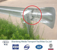 Galvanized Highway Guard Rail Price with C Chanel Posts