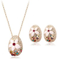 lead and nickel safe african jewellery sets made with Swarovski elements