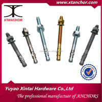 High quality Carbon Steel 3/4X5-1/2 wedge anchor for prefab homes made in china
