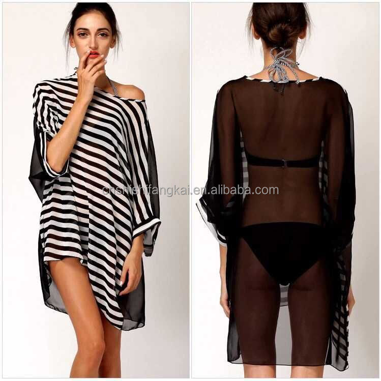 Europe And Sandy Beach Wave Fringed Halter Dress Beach Cover Up