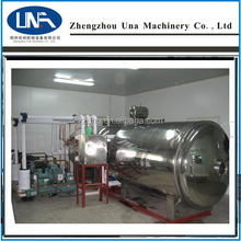 Una hot sell Low cost vacuum food processing freeze dryers