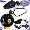 BJ-RM-061 For Yamaha R1 Black CNC Aluminum Handle Bar End Mirrior Motorcycle
