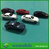 Miniture Toy Sedan Car Model Roadside Cars Railway Landscape Models Vehicles Layout 1:150