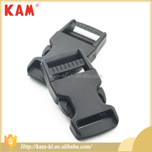 Safety reflective bag side release plastic buckles wholesale