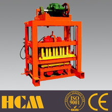 Concrete block and brick industry QTJ4-40B simple operation