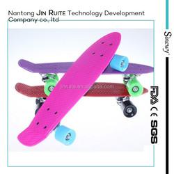 outdoor sports kids games penny retro mini plastic cruiser fish skateboard complete