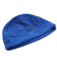 Fashionable design high quality custom fleece beanie hat for sale