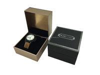 New design plastic watch box, customize your logo, brand your products