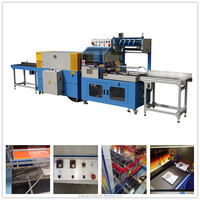China supplier SF728-L L-bar shrink film packing machine for calendar and gift box