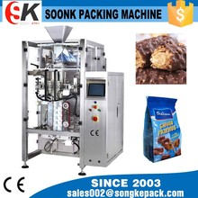 High-Speed Automatic Chocolate Bar Wrapping Machine