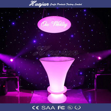 led furniture rechargeable led table led cocktail bar table